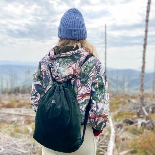 ręcznie wykonane plecaki sacky.