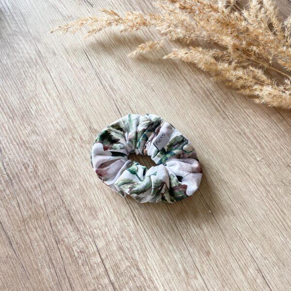 Bawełniana gumka kwiaty